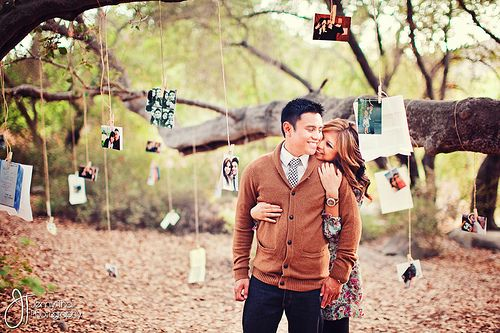 Great Idea for an anniversary photo shoot..