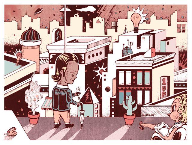 Nimrod Illustration Blog