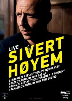 Sivert Høyem live στο Piraeus Academy