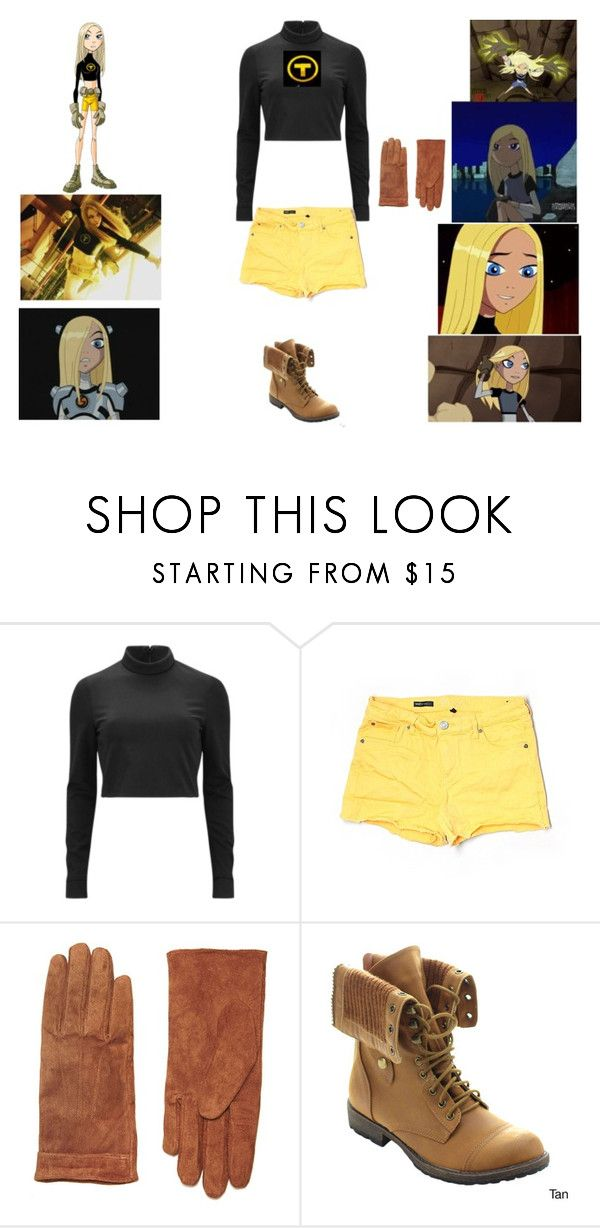 """Teen Titans Terra"" by phoenix1053 ❤ liked on Polyvore featuring TIBI, KUT from the Kloth, Dorothy Perkins and Nature Breeze"