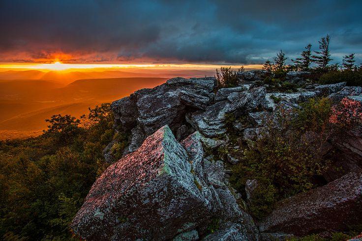 Sunrise - Bear Rocks Preserve - Dolly Sods Wilderness - Monongahela National Forest - West Virginia | by randall sanger