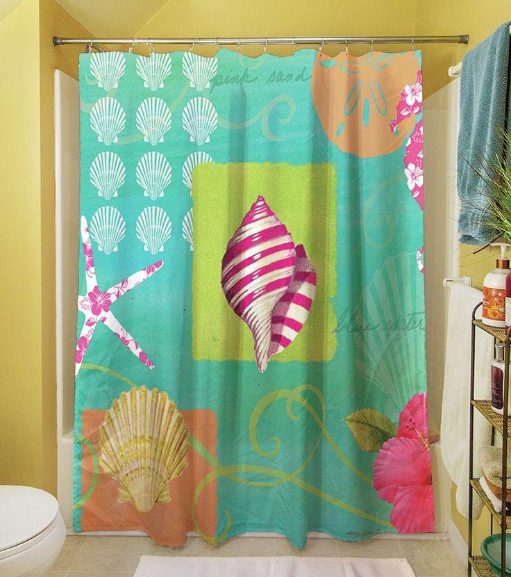 Best 25 Beach Shower Curtains Ideas On Pinterest Coastal Shower Curtains Beachy Shower