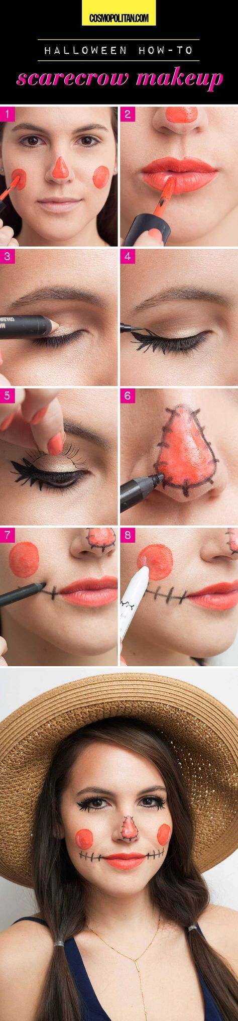 8 Halloween Looks You Can Create With Makeup You Already Have