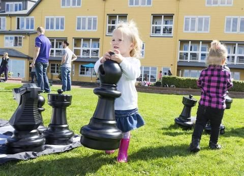 """Black Pieces Only - 25"""" Giant Chess by Rolly Toys (16 Pieces) – Chess House"""