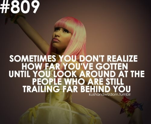 i love nicki minaj, i told her i'd admit it!
