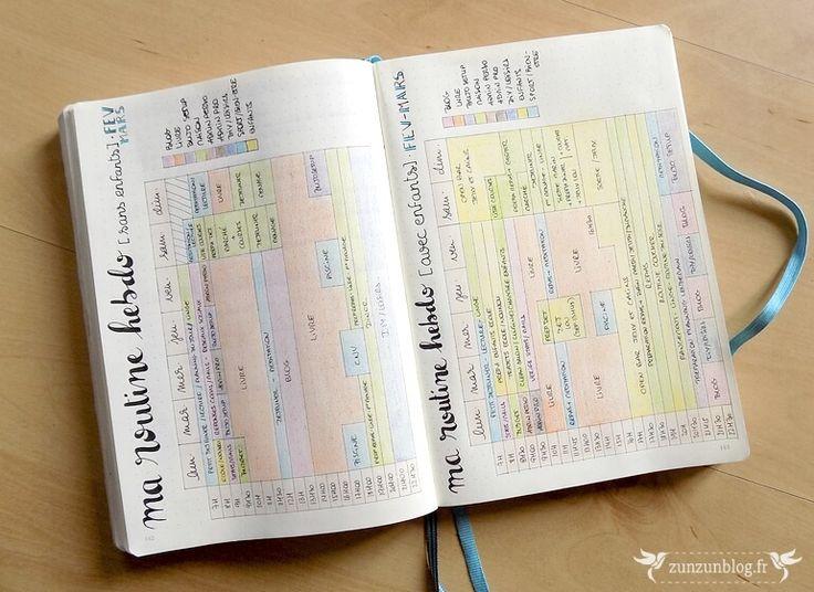 Bullet Journal : Février ! ⋆ ZunZún