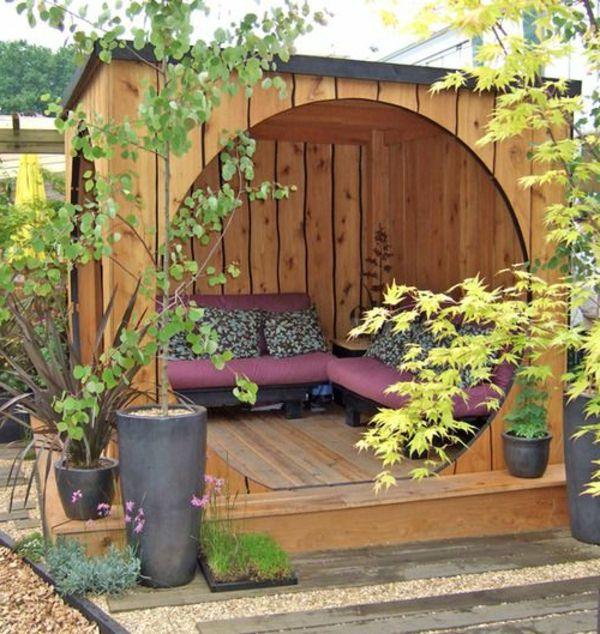 25 best ideas about gartenpavillon holz on pinterest. Black Bedroom Furniture Sets. Home Design Ideas