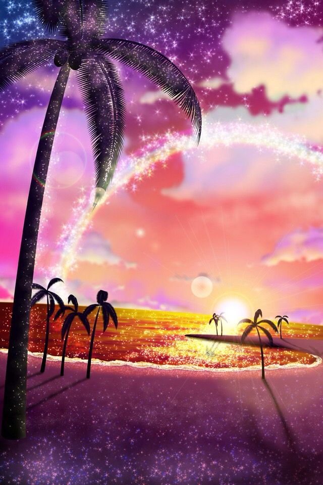 Cute backgrounds 35 pinterest iphone sparkly sunset voltagebd Gallery