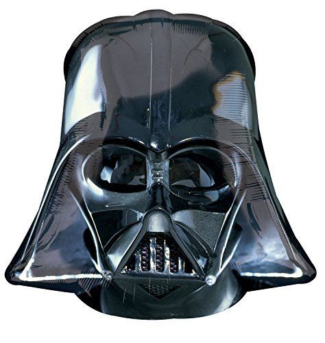 Anagram International Darth Vader Helmet Shape Pack, 25', Black. #Anagram #International #Darth #Vader #Helmet #Shape #Pack, #Black