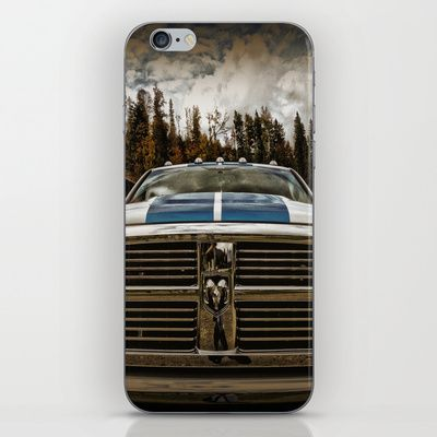 Dodge Automobile iPhone & iPod Skin by AngelEowyn - $15.00