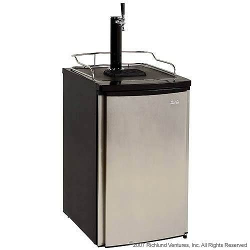 Avanti Kegerator - Stainless Steel Door