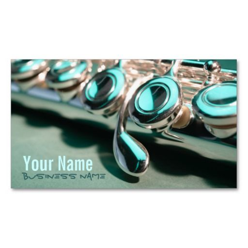 Flute Keys Business Cards