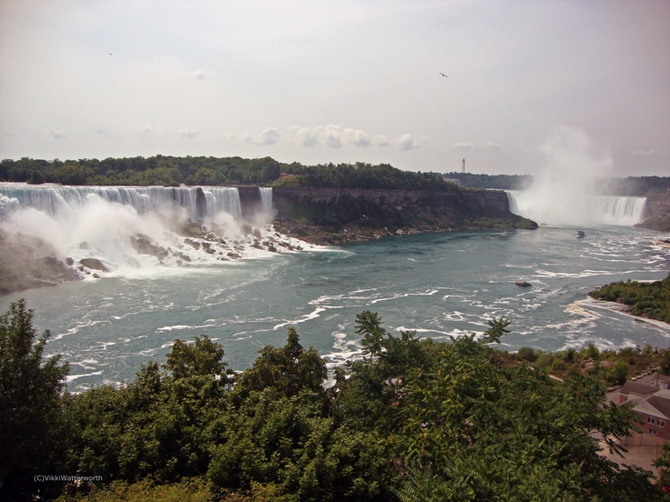 Niagara Falls and American Falls (Photo by Vikki Watterworth)