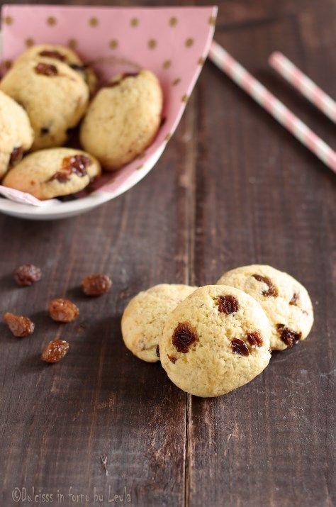 Biscotti morbidi all'uvetta   #biscotti #morbidi #teneri #uvetta #uvasultanina