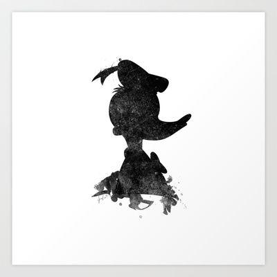 Donald Duck Art Print by Spades - $18.00