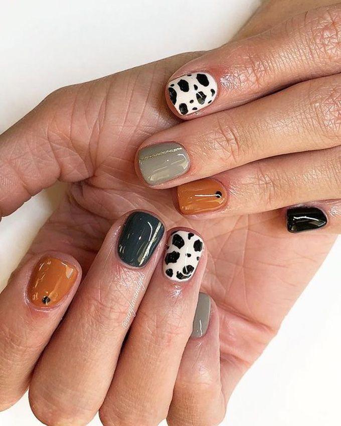 127 awesome acrylic coffin nails designs in summer 10 Modern House Design Cute Acrylic Nails, Cute Nails, Pretty Nails, My Nails, Nail Manicure, Cute Simple Nails, Shellac Nail Art, Nail Polish, Minimalist Nails
