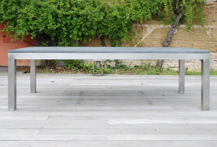 613 best outdoor images on pinterest terrace garden for Table exterieur 16 personnes