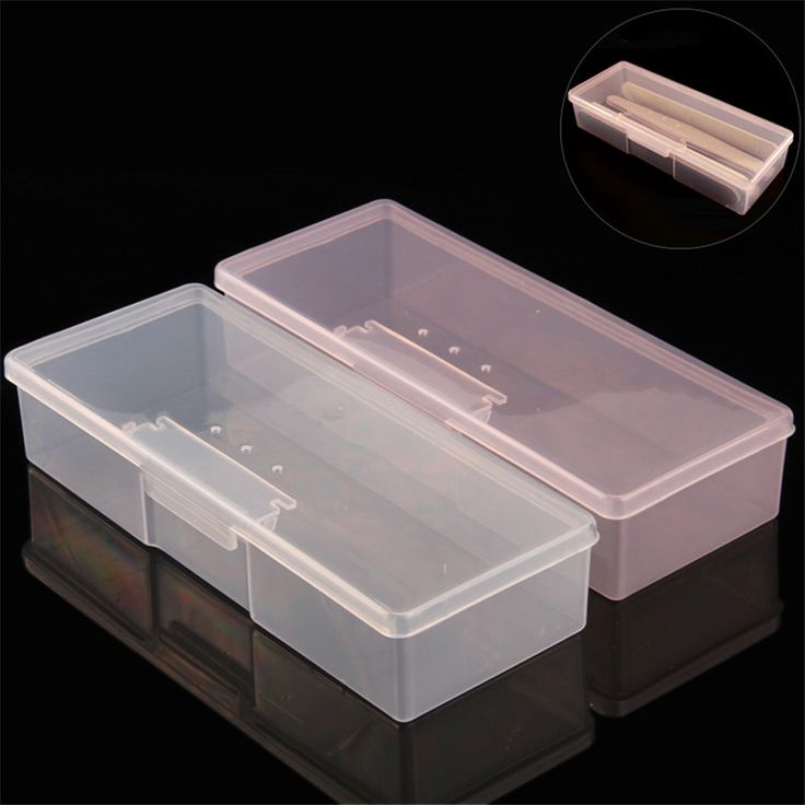 Plastic Empty Nail Art Tool Storage Box Rectangle Container For Nails Pens Studs Brushes Cuticle Pusher Polishing Strip-in Nail Art Equipment from Beauty & Health on Aliexpress.com | Alibaba Group