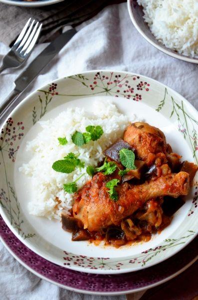 Marokkói padlizsános csirkeragu  Tipikus Flammeres: Bosszúság :(