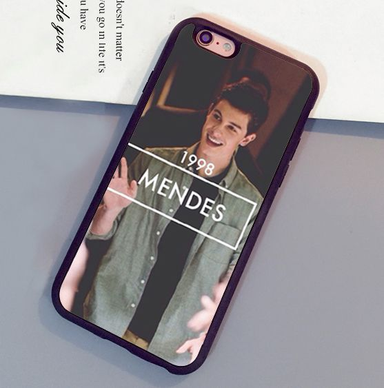 Shawn Mendes 1998 Printed Luxury Mobile Phone Cases OEM For iPhone 6 6S Plus 7 7 Plus 5 5S 5C SE 4S Soft Rubber Cover