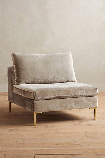 Another option for family room - Slub Velvet Edlyn Chair