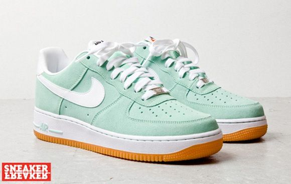 sports shoes e7d86 173b7 This Nike Air Force 1 Low Arctic Green White Gum is looking super nice,  almost like a select Easter pair that Nike held back.