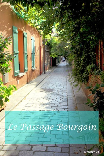 Passage Bourgoin - Paris XIIIème