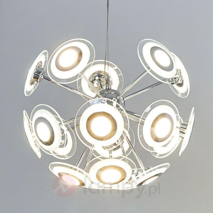 Trendowa lampa wahadłowa LED Mirala 9627012