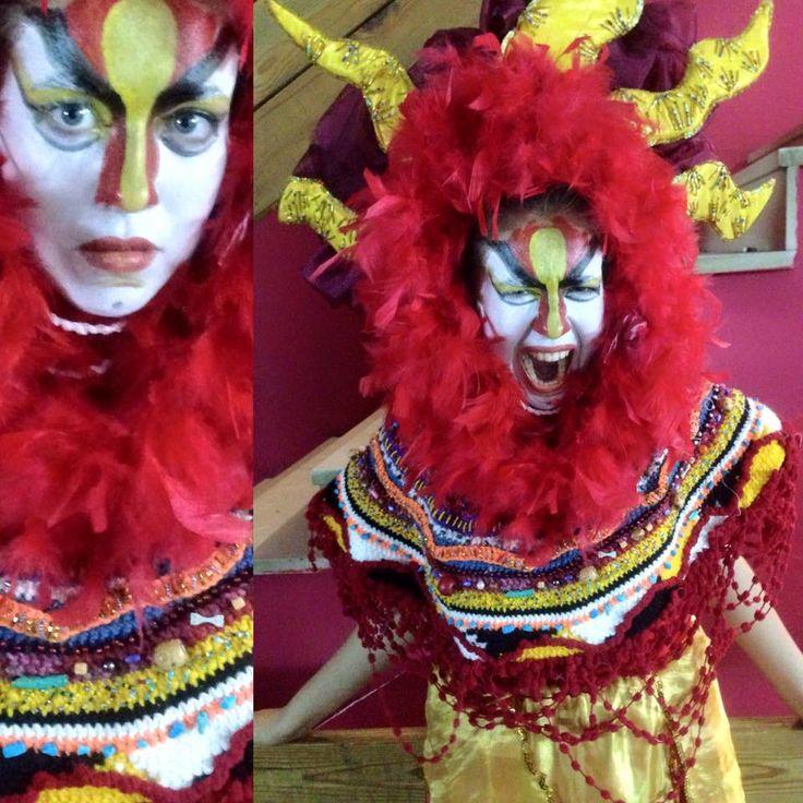make up for the theatre by Irina Savina