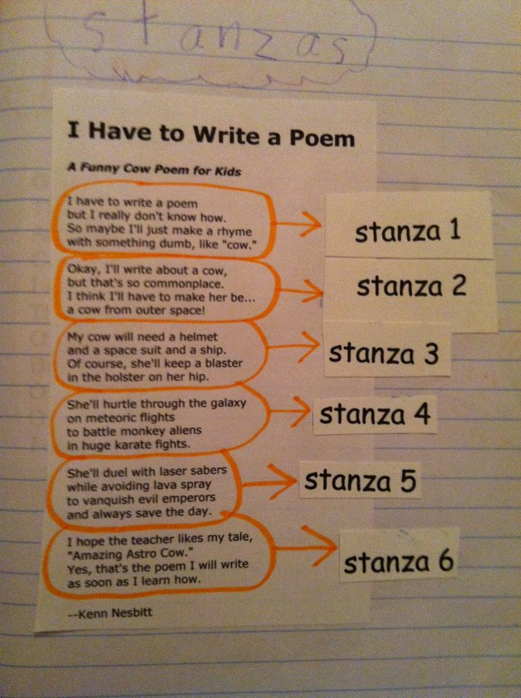 How to Write a Two-Stanza Poem