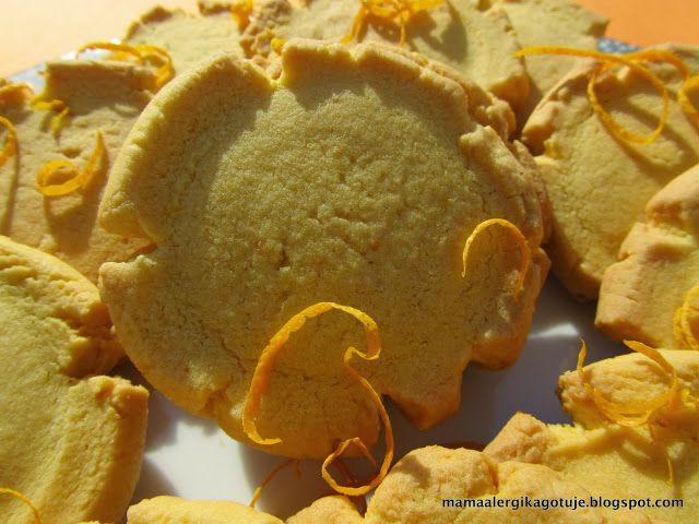 ciasteczka z pomarańczową nutką