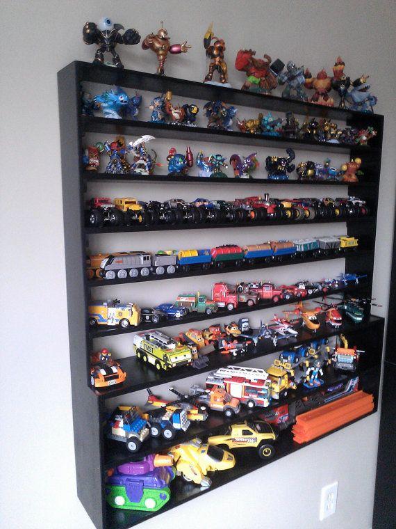 Skylanders Amiibos Cars Disney Infinity Legos Planes Fire And Rescue Wall Display Rack