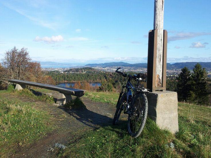 Sykkeltur til Lian