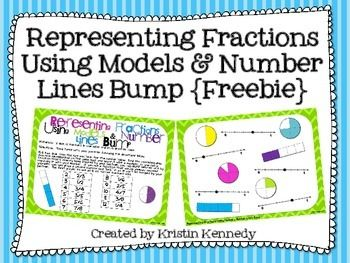 {FREE} Representing Fractions Using Models and Number Line