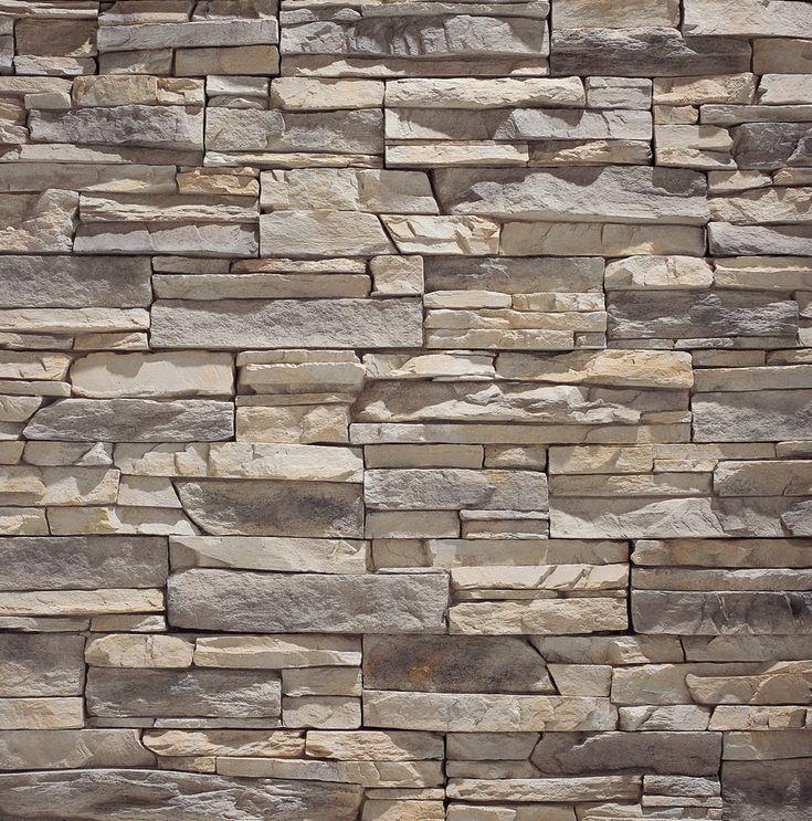 Eldorado stone alderwood stacked stone different for Stacked stone house