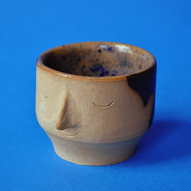 Empty Vessel by William Edmonds.  I love this simple little face!