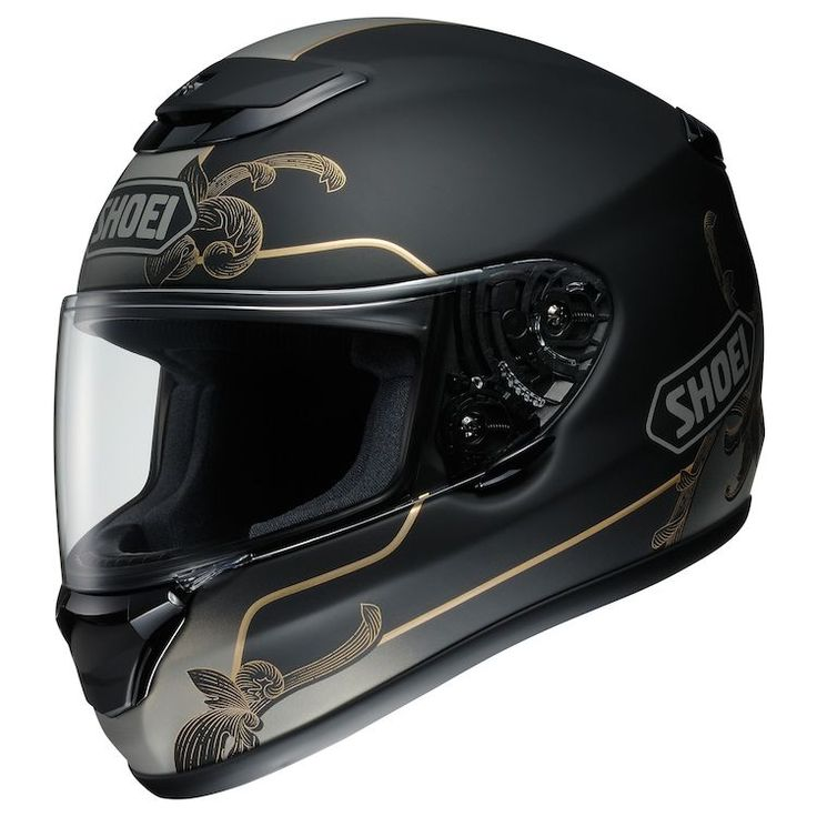 The Shoei Qwest is a full-face helmet designed for touring and cruising. Noise reduction, long-distance comfort, advanced ventilation and a…