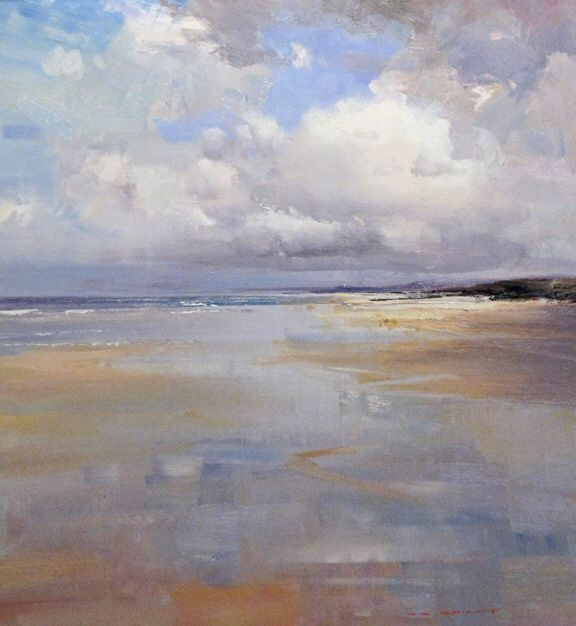 Low Tide Reflections by Ken Knight - love the colors. This would be so relaxing in a bedroom or bath!