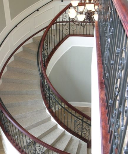 81 best images about fabulous designer foyers entryways for 2 story spiral staircase