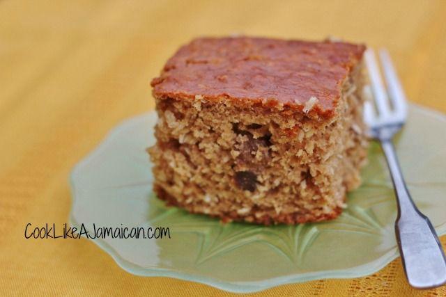 Jamaican Toto Coconut Cake Recipe - Cook Like a ...