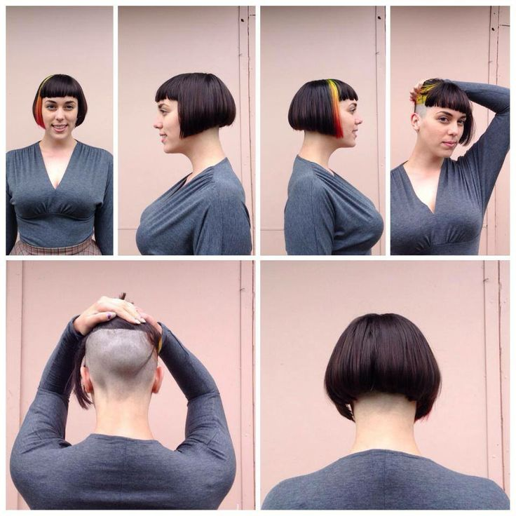Haircuts For Women With Shaved Napes