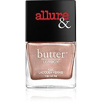 Butter London - Arm Candy Nail Lacquer Collection in I'm On The List (rose gold, metallic) #ultabeauty