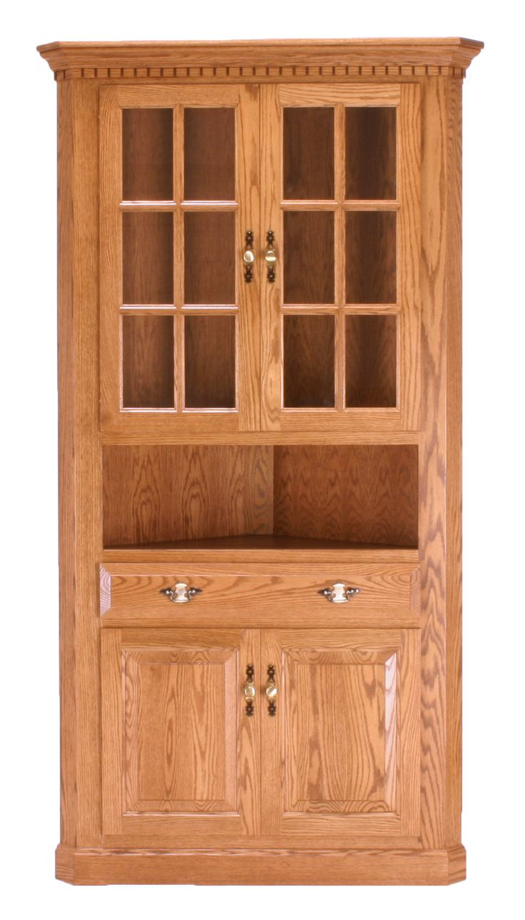 Traditional Corner Hutch | Canal Dover Furniture