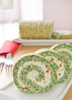 Rulada de spanac este un aperitiv desavarsit, o combinatie perfecta cu crema de branza, de mare efect pentru mese festive dar si pentru clipe de rasfat in familie…