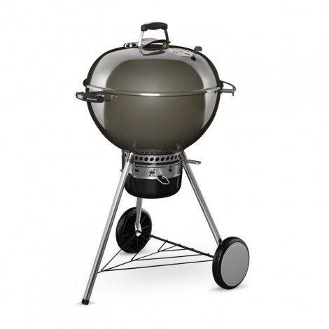 Weber Master-Touch GBS System Edition houtskoolbarbecue smoke grey
