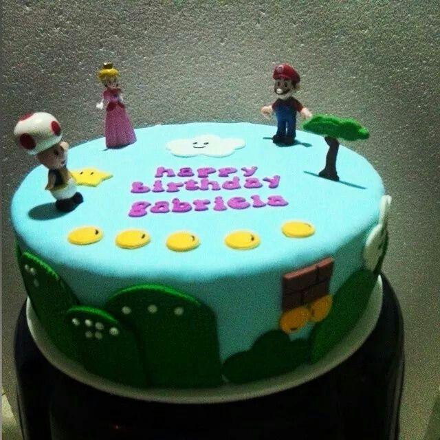 #cake #paulisbakery #mariobros #nintendo