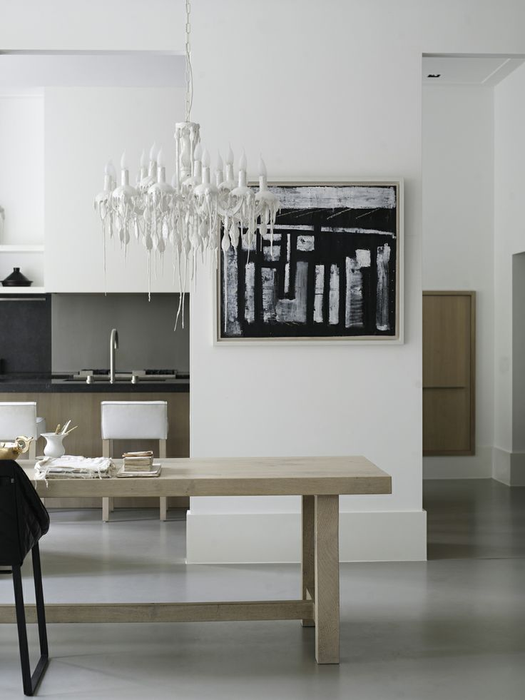 Piet Boon Styling by Karin Meyn | Styling with artistic objects, black Kekke chair; Piet Boon collection