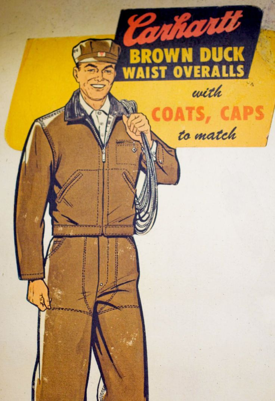 #Carhartt Potomac -- vintage signage