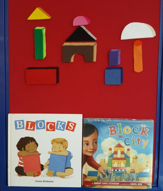 Fun with Friends at Storytime: Building with Blocks