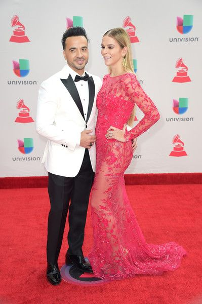 Luis Fonsi and Agueda Lopez attend the 18th Annual Latin Grammy Awards at MGM Grand Garden Arena on November 16, 2017 in Las Vegas, Nevada.
